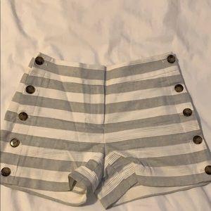 Striped Sailor shorts, NWT